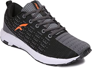 Furo by Red Chief Men's Black Running Shoe (R1022 783)