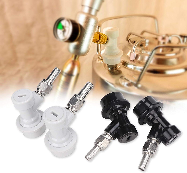 Beer Keg Connector 4PCS Threaded Lock Ball Super intense SALE Award-winning store Plastic Fittings
