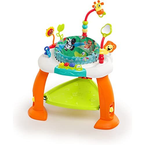 Best 360° spinning and appealing baby bouncer by Bright Starts.