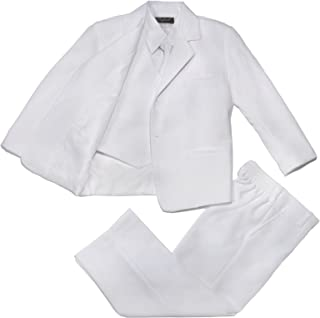 Nancy August Classic Baby Boy to Teen Formal Tuxedo with Tail in White