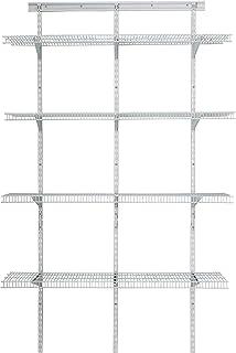 ClosetMaid - Estantería de Alta Resistencia (122 x 200 x 44 cm), Color Blanco