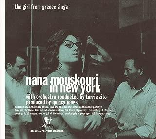 Nana Mouskouri In New York - The Girl From Greece Sings