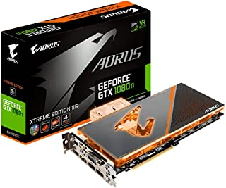Gigabyte GV-N108TAORUSX WB-11GD AORUS GeForce GTX 1080 Ti Waterforce WB Xtreme Edition 11G Graphic Cards