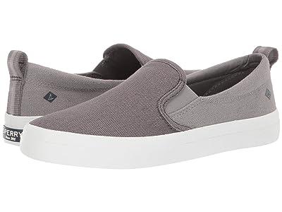 Sperry Crest Slip-On Color Block (Grey) Women