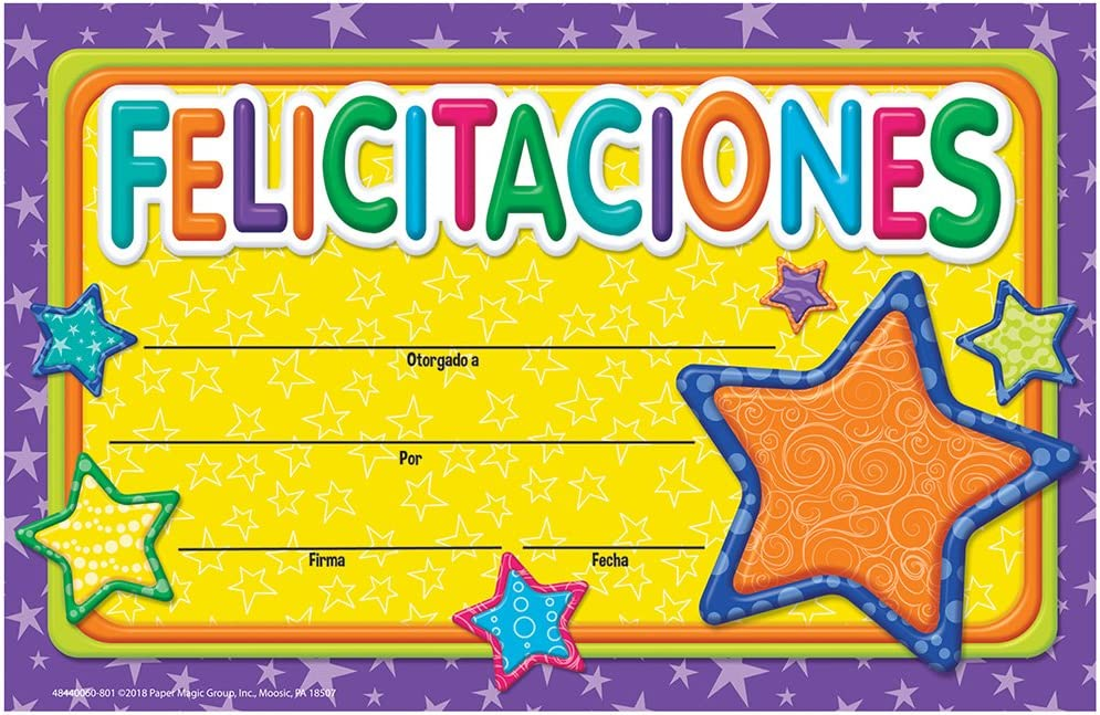 Eureka Classroom Recognition Awards - World Con Spanish Color My Import Ranking TOP9