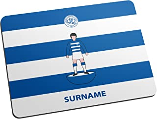 Official Personalised Queens Park Rangers FC Player Figure Mouse Mat