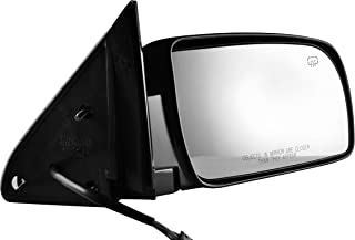 OCPTY Exterior Mirror Driver Side Mirror Fits for 1992-1994 Chevrolet Blazer 1988-1999 Chevrolet C1500 C2500 C3500 K1500 1995-2000 Chevrolet Tahoe Black Manual Folding Non-Heated 15036359 GM1320122