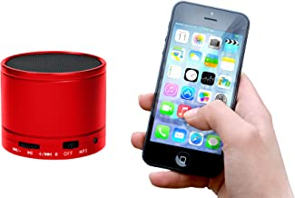 Xtreme Cables Audio Pod Mini Bluetooth Speaker, Red