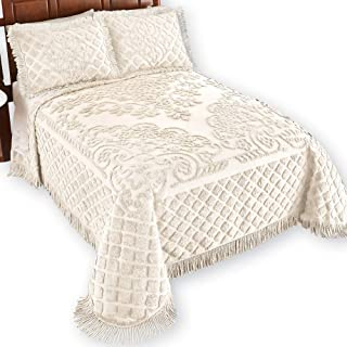 Best oversized king size chenille bedspreads Reviews