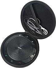 Khanka - Funda rígida de viaje para Jabra Speak 510/510+ Plus MS/410 USB Bluetooth portátil altavoz de conferencia de audio