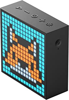 Divoom 840500101766 Pixel Art Speakers - Black (Pack of 1)