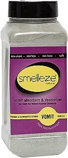 SMELLEZE Natural Vomit & Smell Absorbent: 2 lb. Powder Stops Puke Odor