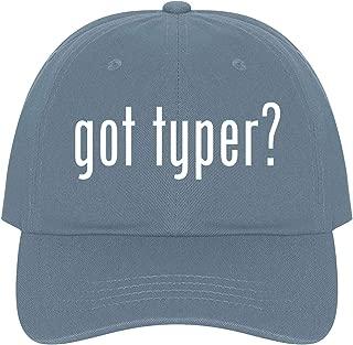 The Town Butler got Typer? - A Nice Comfortable Adjustable Dad Hat Cap
