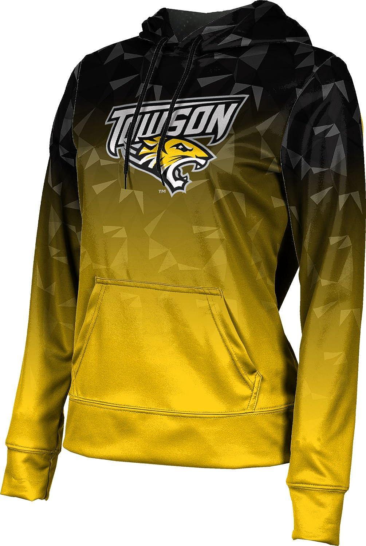ProSphere Towson University Girls' Pullover Hoodie, School Spirit Sweatshirt (Maya)