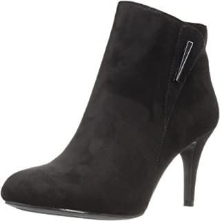 Best black suede stretch booties Reviews