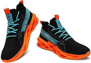 XINBANG حذاء جري للرجال أحذية رياضية كاجوال منزلقة أزياء رياضية في الهواء الطلق