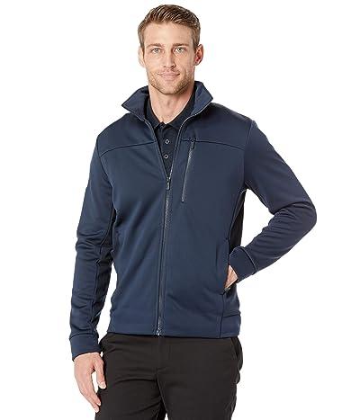 Helly Hansen Crew Fleece Jacket (Navy) Men