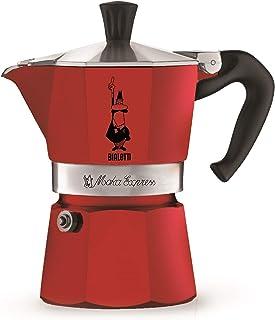Bialetti 4941 Moka Express Espresso Kahve Pişiricisi 1 Kişilik Rossa - Kırmızı