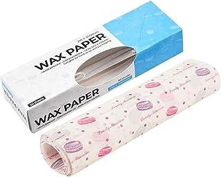 WISETOP 50 hojas de papel encerado, resistente a la grasa, para picnic, para hornear, para forro de canastas de alimentos,...
