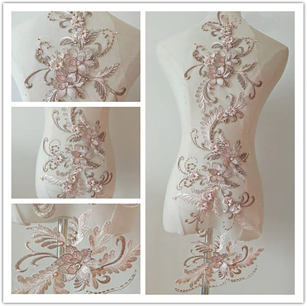3D Applique sew on Free Shipping New Patches Sequin M Super sale bead3d Flowers lace