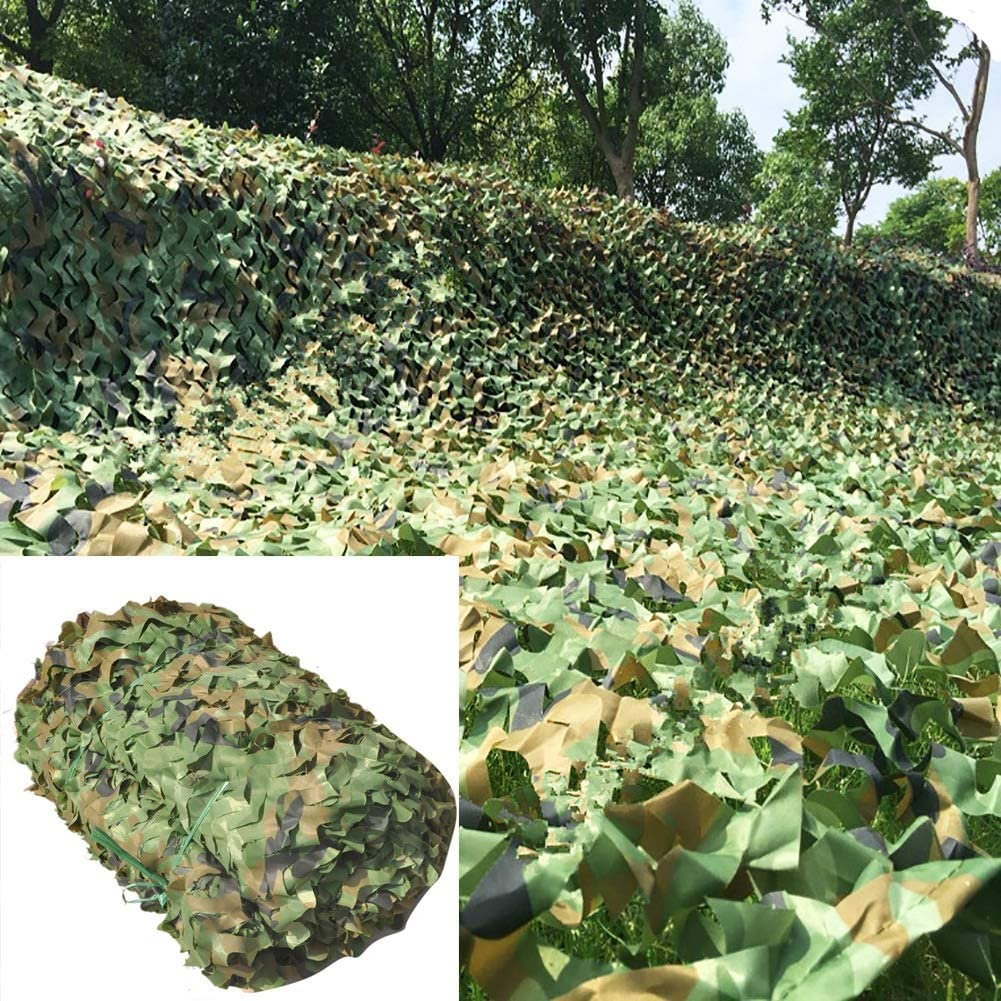 Camo Netting with Ranking TOP16 Mesh Backing 4X6m Cam Military 20ft X - 13ft Long-awaited