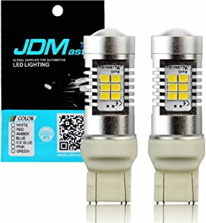 JDM ASTAR 2520 Lumens Extremely Bright PX Chips 7440 7441 7443 7444 White Backup Reverse LED Bulbs