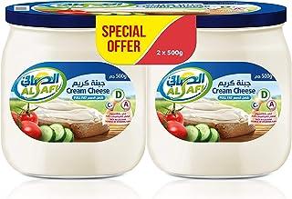 Al Safi Cream Cheese Spread, 2 x 500 gm