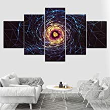 Frameless 5 Paintings Canvas Painting Abstract Shining Cobweb Wall Art Pictures 5 Pieces Modular Wallpapers Poster Print For Living Room Home Decor