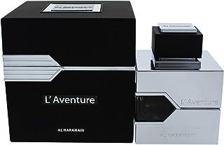 Al Haramain L�Aventure Eau De Parfum for Men, 3.33 oz, multi