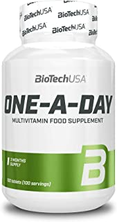 BioTech One A Day Vitaminas y Minerales - 100 Tabletas