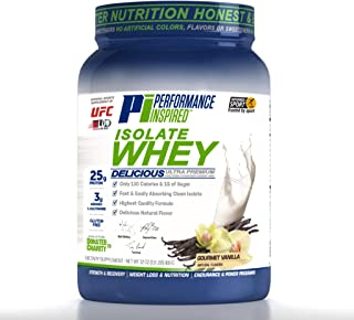 Performance Inspired Nutrition Isolate Whey, Gourmet Vanilla, 2 Lb, Style #: Isovan