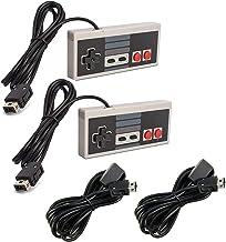 Link-e : Lot de deux manettes et cable rallonge compatible avec la console Nintendo Mini/Classic NES