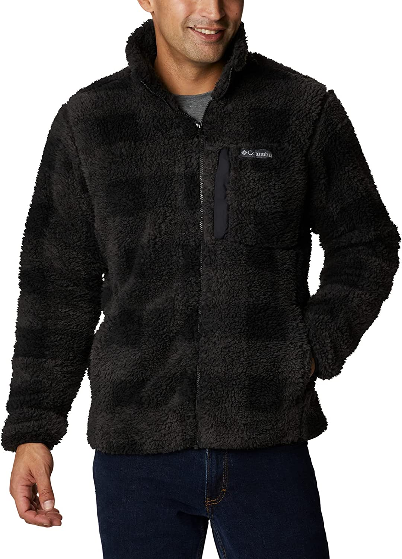 Las Vegas Mall Popular brand in the world Columbia Men's Winter Pass Print Fleece Full Zip