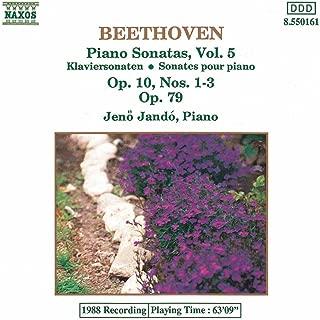 Beethoven: Piano Sonatas Nos. 5-7, Op. 10 and No. 25, Op. 79
