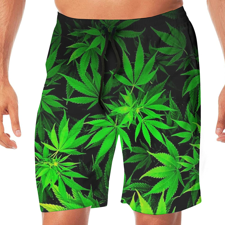 JZDACH Mens Big & Tall Swim Trunks Board Shorts Basic Swimwear with Pockets