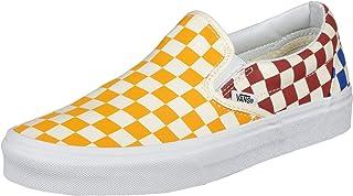 Vans Classic Slip-On (Checkerboard) Multicolor/True White
