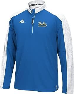 adidas UCLA Bruins 2016 Football Coaches 1/4 Zip Jacket - White