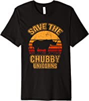 Save The Chubby Unicorns Shirt I Vintage I Nashorn T-Shirt
