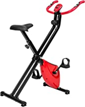 TecTake Maquina Fitness Plegable Bicicleta ESTATICA + Monitor