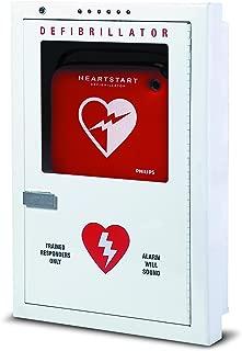 Philips HeartStart AED Defibrillator Semi-Recessed Cabinet