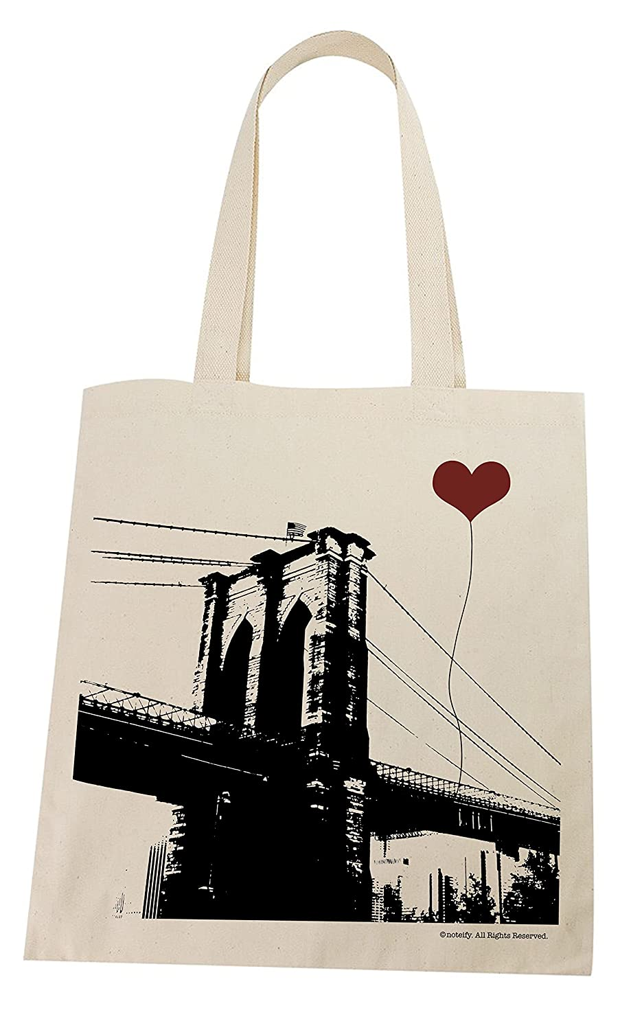 New York Brooklyn Bridge Lightweight Bag Tote Over item handling ☆ Special price for a limited time