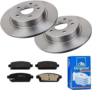 2 Bremsscheiben Ø268 Voll + Bremsbeläge ATE Hinten P A 02 00474 Bremsanlage