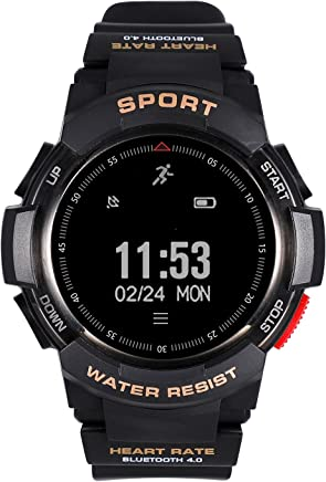 DTNO.I Waterproof Outdoor Smart Watch Fitness Tracker,with Sport Manager,Help Detection,Heart Rate Monitor,Data Synchronization for Men