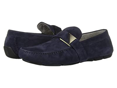 Kenneth Cole New York Theme Driver C (Navy Suede) Men