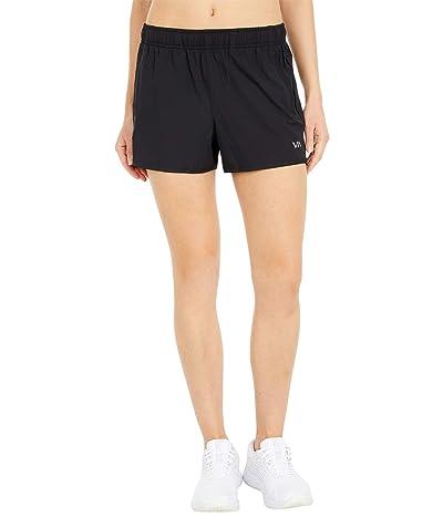 RVCA Yogger Stretch Shorts (Black) Women