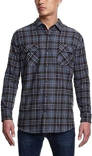 Weatherproof Vintage Men's Long Sleeve Casual Flannel Button Down Shirt
