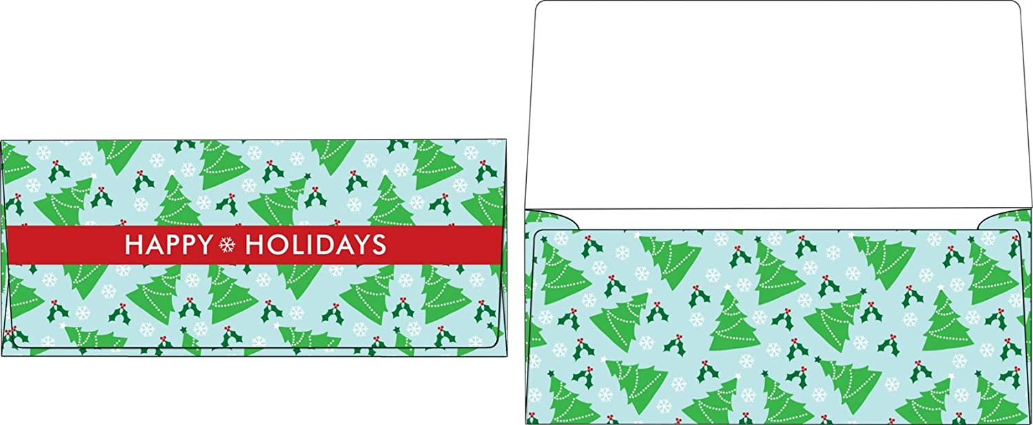 Currency Envelopes 2 7 Cheap SALE shop Start 8 x 6 - Trees 1 Qty. Christmas 50