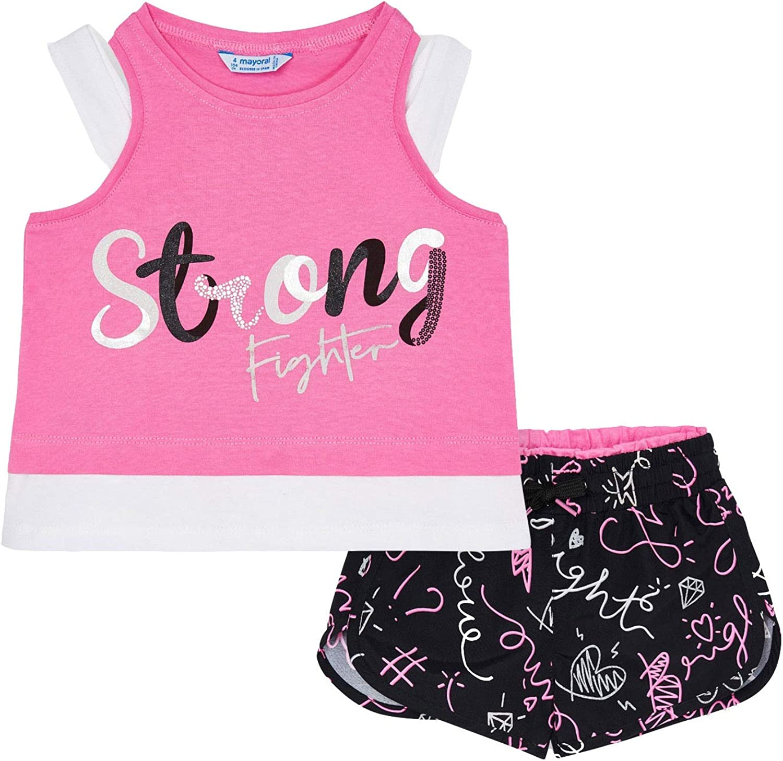 Mayoral Kansas City Mall - Printed wholesale Shorts Set for Camellia 3221 Girls