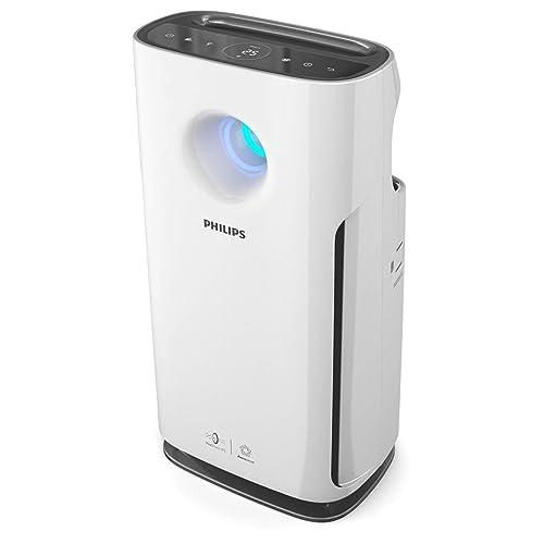 Philips Serie 3000 AC3256/10 - Purificador de aire, hasta 95m², con modo para alérgenos, interfaz de usuario táctil con pantalla, modo ultrasilencioso, filtro HEPA
