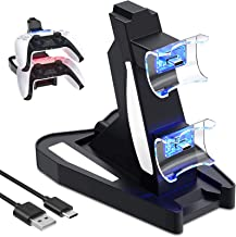 $34 » ZRXRY PS5 Controller Charger, Fast Charging Station for PS5 Controller DualSense, Charger Stand Dock for Playstation 5 Dua...